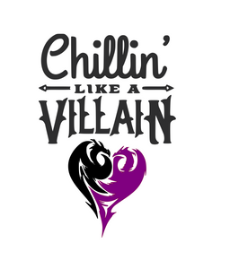 Descendents | Chillin' Like a Villain Digital DXF | PNG | SVG Files!