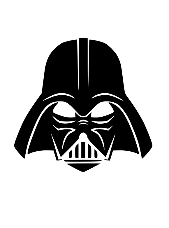Darth Vader Digital DXF | PNG | SVG Files!