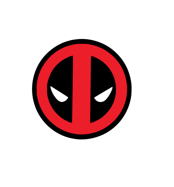 Deadpool Logo Digital DXF | PNG | SVG Files!