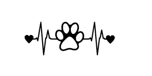 "Heartbeat ""Dogs"" Digital DXF 
