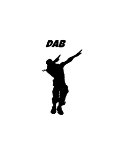"Fortnite | Emote ""Dab"" Digital DXF 