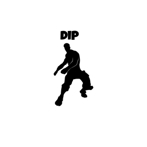 "Fortnite | Emote ""Dip"" Digital DXF 