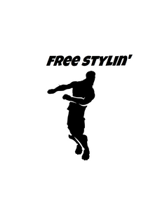 "Fortnite | Emote ""Freestylin'"" Digital DXF 