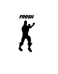 "Fortnite | Emote ""Fresh"" Digital DXF 