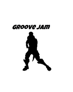 "Fortnite | Emote ""Groove Jam"" Digital DXF 