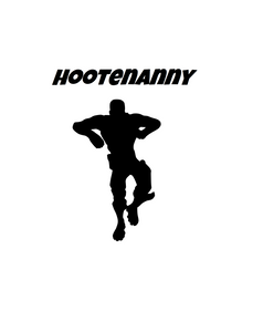"Fortnite | Emote ""Hootenanny"" Digital DXF 