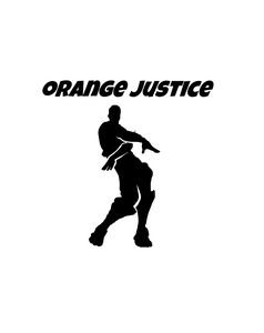 "Fortnite | Emote ""Orange Justice"" Digital DXF 