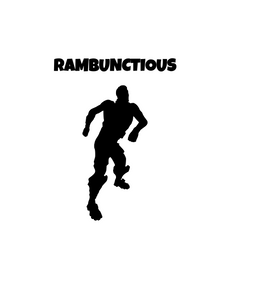 "Fortnite | Emote ""Rambunctious"" Digital DXF 