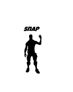 "Fortnite | Emote ""Snap"" Digital DXF 