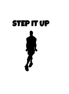 "Fortnite | Emote ""Step It Up"" Digital DXF 