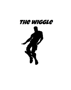 "Fortnite | Emote ""Wiggle"" Digital DXF 