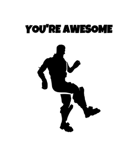 "Fortnite | Emote ""You're Awesome"" Digital DXF 