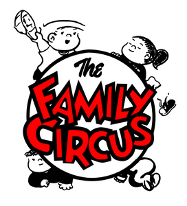 Family Circus Logo Digital DXF | PNG | SVG Files!