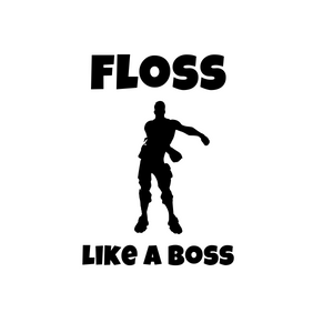 "Fortnite | ""Floss Like a Boss"" Digital DXF 