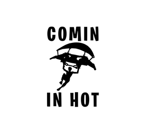 "Fortnite | ""Coming in Hot"" Digital DXF 