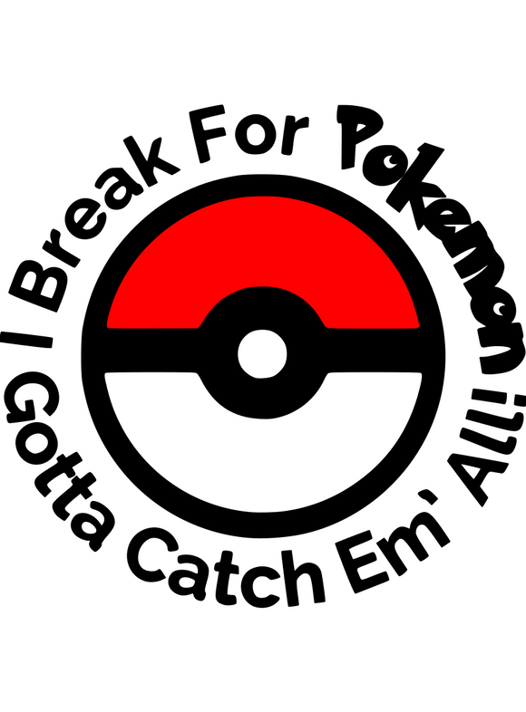 Pokemon | I Break For Pokemon