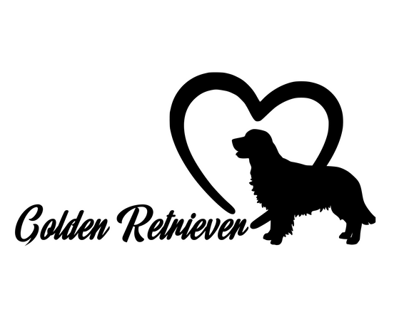 Dog Lover! | Loves Golden Retrievers Digital DXF | PNG | SVG Files!