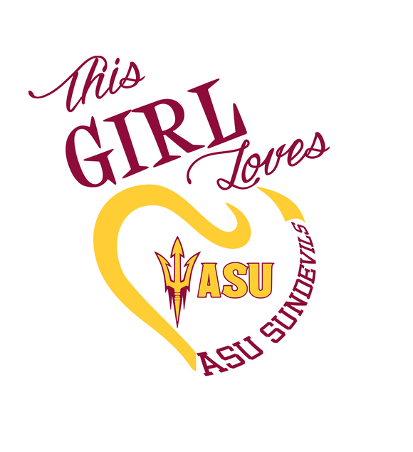 This Girl Loves ASU Sun Devils Digital DXF | PNG | SVG Files!