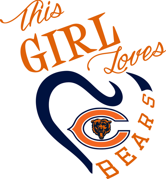 This Girl Loves Bears Digital DXF | PNG | SVG Files!
