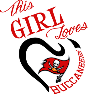 This Girl Loves Buccaneers Digital DXF | PNG | SVG Files!