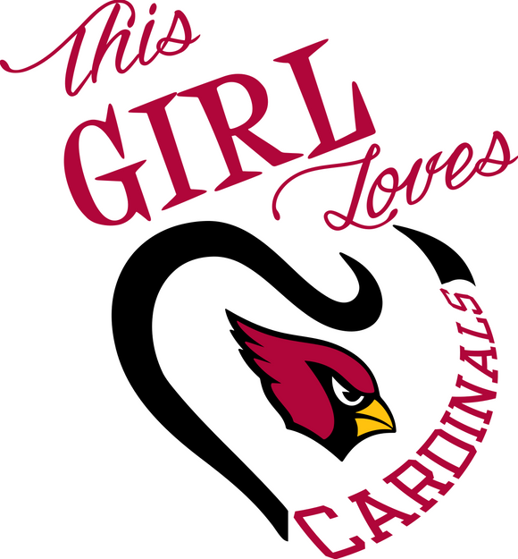 This Girl Loves Cardinals Digital DXF | PNG | SVG Files!