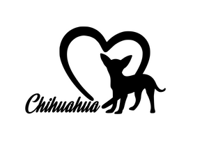 Dog Lover! | Loves Chihuahuas Digital DXF | PNG | SVG Files!
