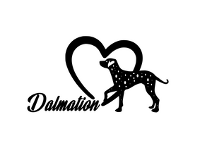 Dog Lover! | Loves Dalmationss Digital DXF | PNG | SVG Files!