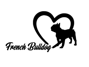 Dog Lover! | Loves French Bulldogs Digital DXF | PNG | SVG Files!