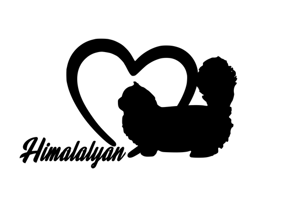 Cat Lover! | Loves Himalayan's Digital DXF | PNG | SVG Files!