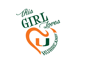 This Girl Loves Hurricanes Digital DXF | PNG | SVG Files!