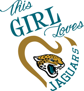This Girl Loves Jaguars Digital DXF | PNG | SVG Files!