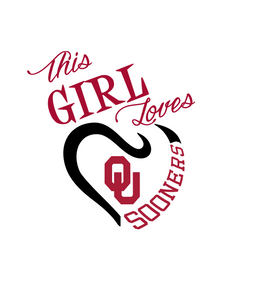 This Girl Loves OK Sooners Digital DXF | PNG | SVG Files!