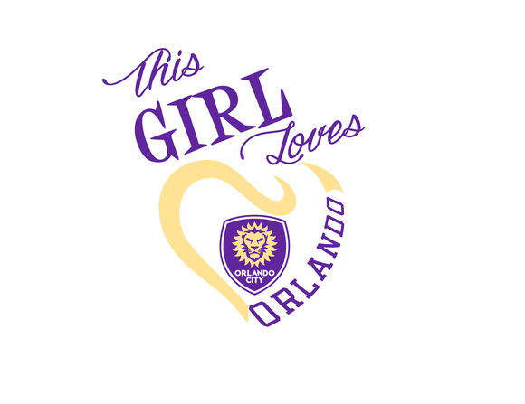 This Girl Loves Orlando City Soccer Digital DXF | PNG | SVG Files!