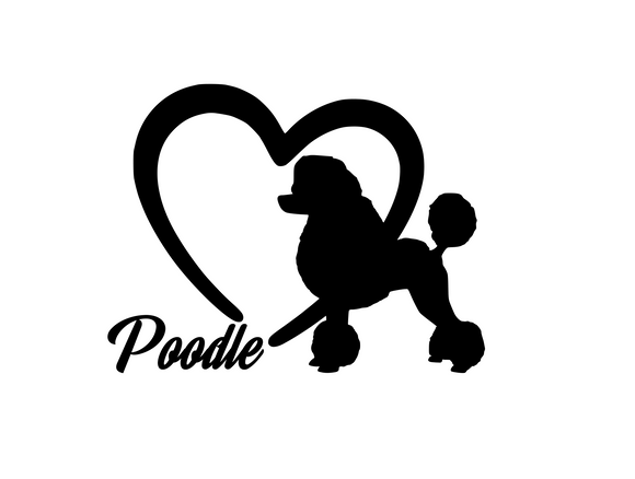 Dog Lover! | Loves Poodles Digital DXF | PNG | SVG Files!