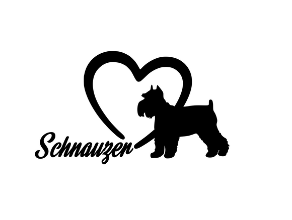 Dog Lover! | Loves Schnauzers Digital DXF | PNG | SVG Files!