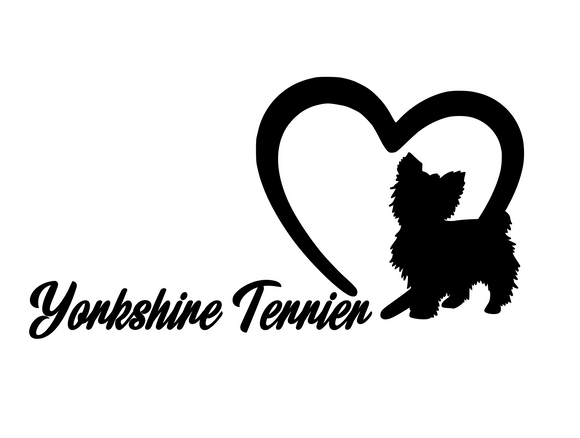 Dog Lover! | Loves Yorkshire Terrier Digital DXF | PNG | SVG Files!