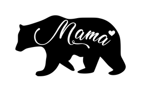Mama Bear Digital DXF | PNG | SVG Files!