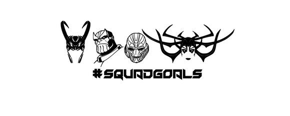 Villain Squad Goals Digital DXF | PNG | SVG Files!