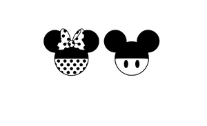 Mouse Ears Digital DXF | PNG | SVG Files!