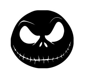Nightmare Before Christmas Inspired | Jack Head  Digital DXF | PNG | SVG Files!