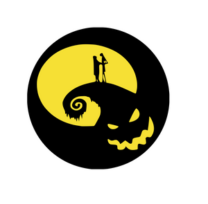 Nightmare Before Christmas Inspired | Jack and Sally Skellington Digital DXF | PNG | SVG Files!