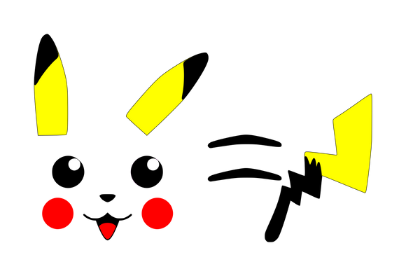 Pokemon | Pikachu Parts