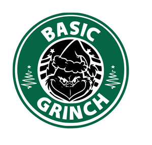 Starbucks | Basic Grinch Digital DXF | PNG | SVG Files!