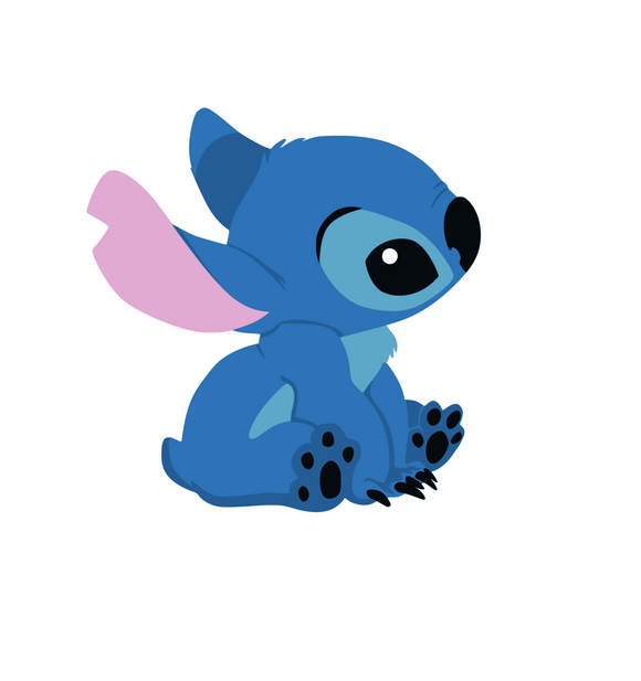 Stitch Cute (Lelo & Stitch) Digital DXF | PNG | SVG Files!
