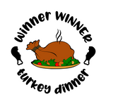 Thanksgiving | Winner Winner, Turkey Dinner Digital DXF | PNG | SVG Files!