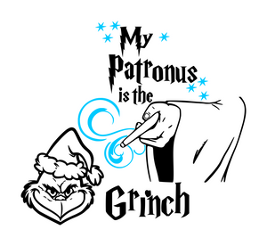 Grinch Inspired | My Patronus is the Grinch Digital DXF | PNG | SVG Files!
