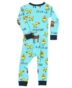 Duck Moose | Boy Infant Union Suit