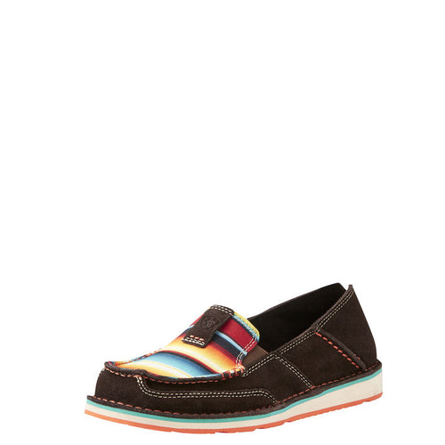 Women's Ariat Chocolate Fudge Serape Cruiser