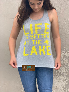 Life is Better at the Lake Tank