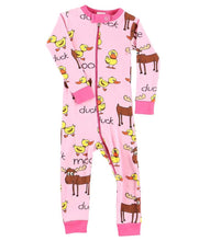 Duck Duck Moose Pink Infant Union Suit